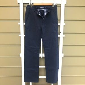Bonobos size 28x32 men's navy cotton chino pants